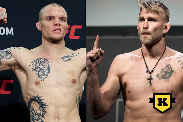 Alexander The Mauler Gustafsson Anthony Smith