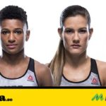 Angela Hill vs Cortney Casey matchning