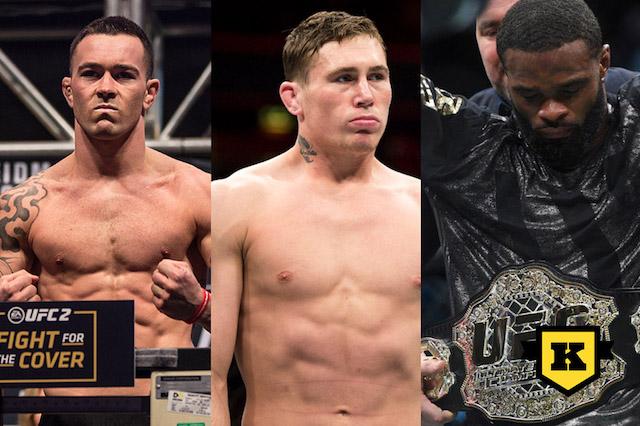 Colby Covington Darren Till Tyron woodley UFC