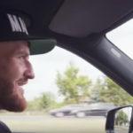 Jan Blachowicz i bilen