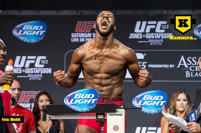 Jon Jones UFC invägning