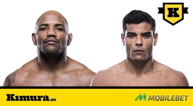 Yoel Romero vs Paulo Costa PROFILBILDER