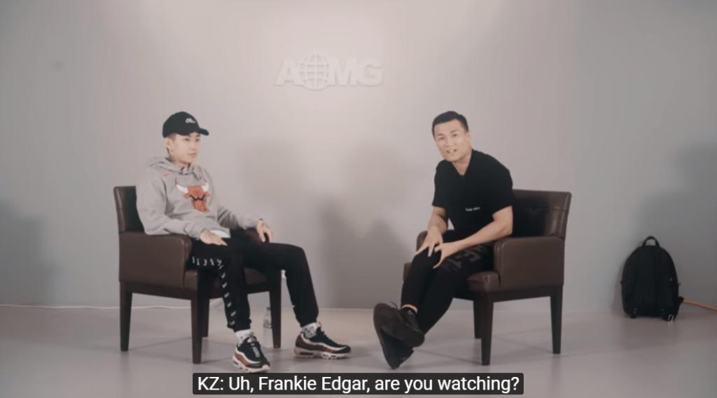 Korean Zombie Chan Sung Jung intervjuas av AOMG om MMA och UFC