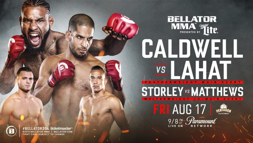 Bellator 204 poster