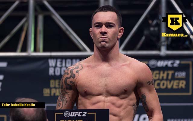 Colby Covington UFC invägning