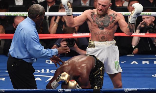 Floyd junior forsvarade titeln