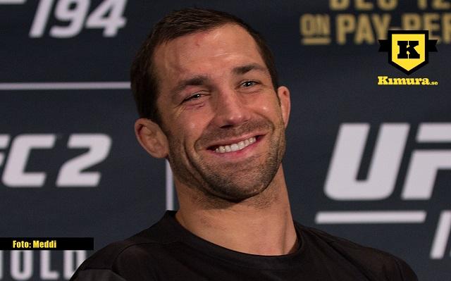 Luke Rockhold glad efter matchen på UFC 194