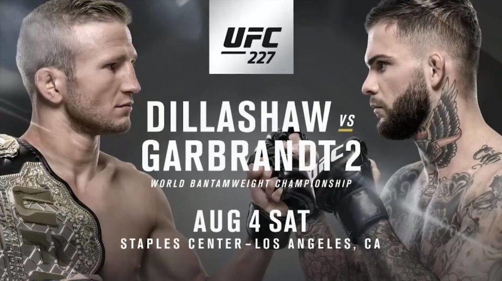 Matchkort UFC 227