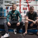 john kavanagh conor mcgregor boxningsring gym