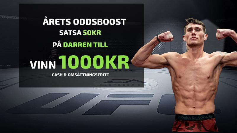 Darren Till oddsboost