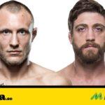 Jack Hermansson vs Gerald Meerschaert UFC Milwuakee