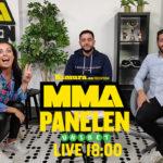 MMA panelen studion