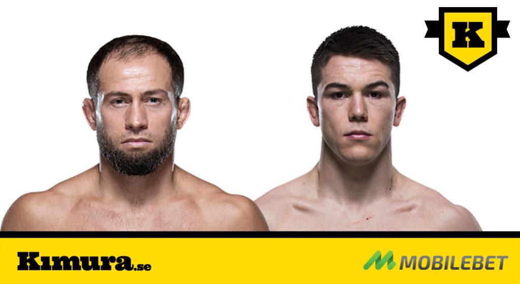 Kimura matchar Mairbek Taisumov mot Alex Hernandez
