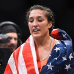 Tatiana Suarez efter seger