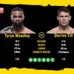 Tyron Woodley möter Darren Till vid UFC 228