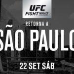 UFC Saou Paulo Matchkort