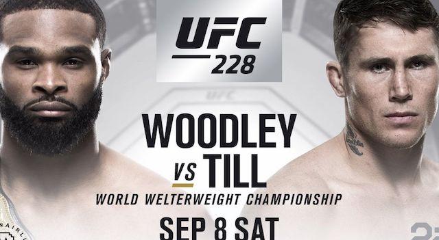 UFC 228 Poster
