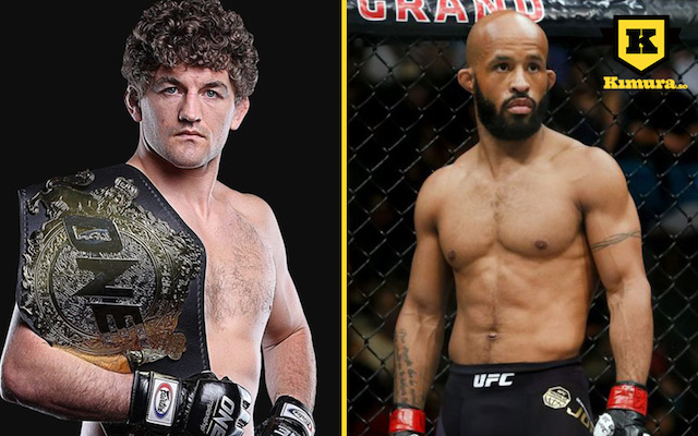 Ben-Askren-UFC-Demetrious-Johnson-dubbelbild