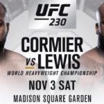 UFC 230 Affisch