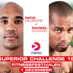 Nico Musoke möter Daniel Acacio