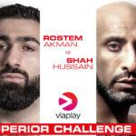 Rostem Akman möter Shah Hussain