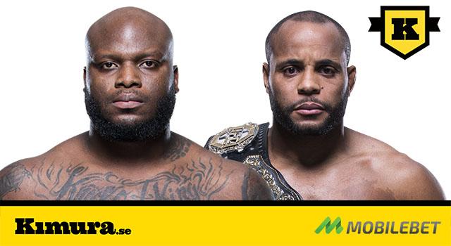 UFC 230 Derrick Lewis möter Daniel Cormier