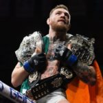 conor mcgregor two belts