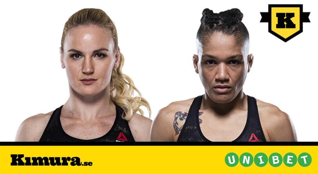 Valentina Shevchenko Sijara Eubanks UFC 230