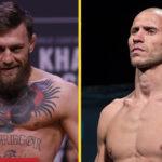Conor McGregor och Donald Cerrone UFC invägning