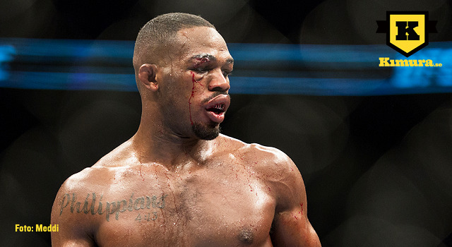ufc 187 Jon Jones i oktagonen