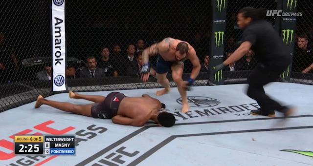 Santiago Ponzinibbio Neil Magny UFC Argentina KO