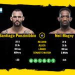 Santiago Ponzinibbio vs Neil Magny