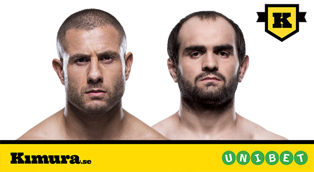 UFC London Gökhan Saki vs Saparbek Safarov