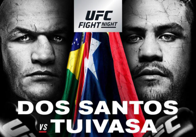 UFC Fight Night 142 Junior dos Santos Tai Tuvasa