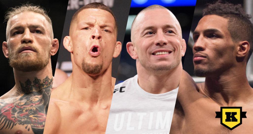 UFC lägger till ny viktklass , 165 lbs, efter UFC 233