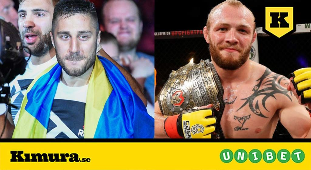 Daniel Teymur vs Chris Fishgold UFC Prag