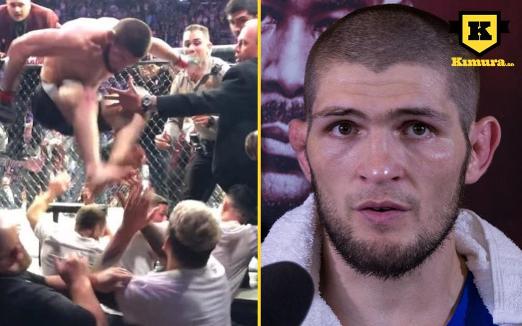 Khabib Nurmagomedov bråk UFC 229