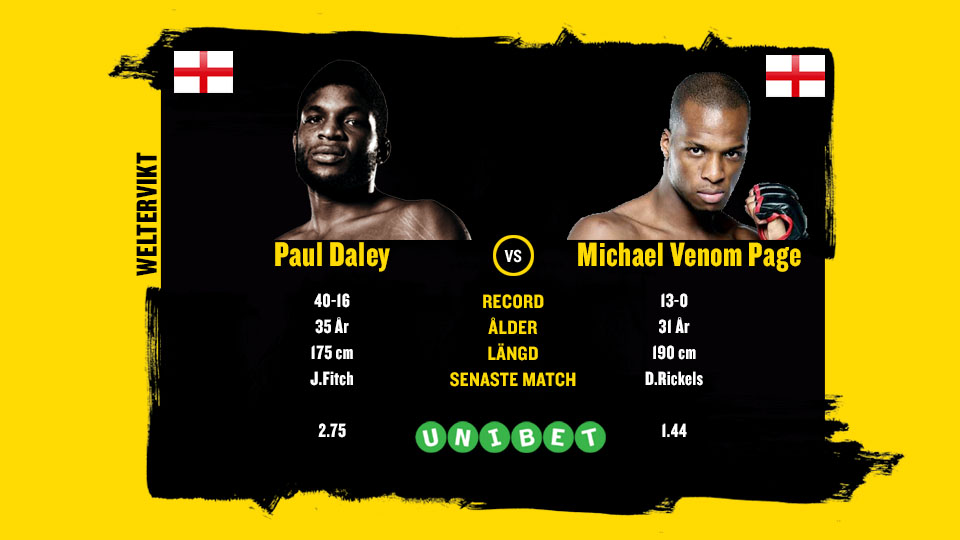 Paul Daley vs Michael Venom Page Belllator 216