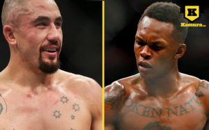 Robert Whittaker vs Israel Adesanya 2019