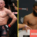 Tyron Woodley Georges St-Pierre match