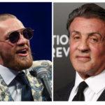 Sylvester Stallone ger råd till Conor McGregor