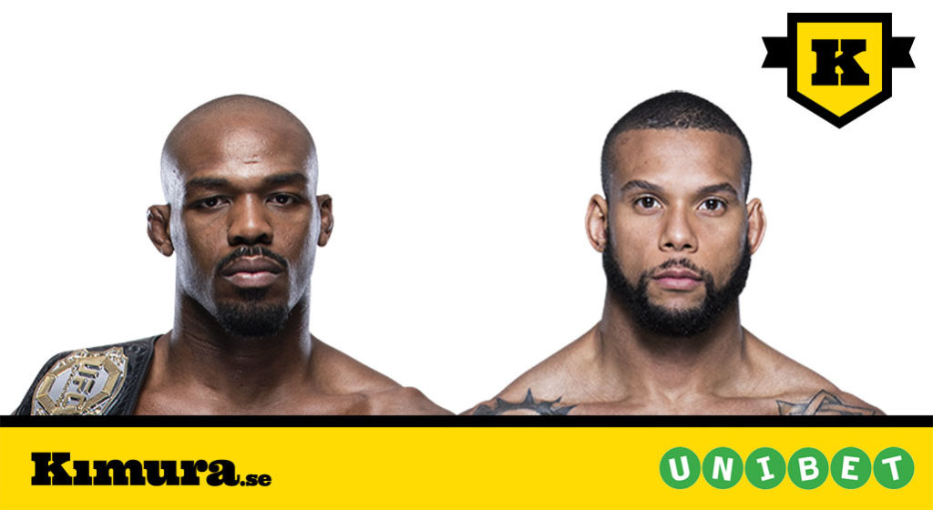 Jon Jones vs Thiago Santos UFC 239