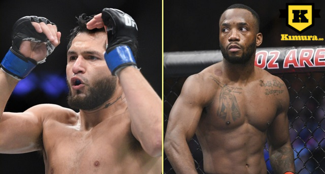 Jorge Masvidal och Leon Edwards fight
