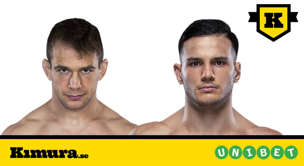 Nick Hein vs Luigi Vendramini UFC Stockholm