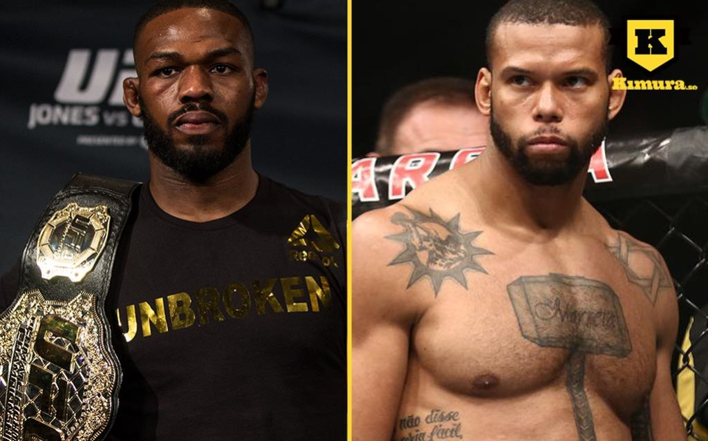 UFC 239 Jon Jones vs Thiago Santos