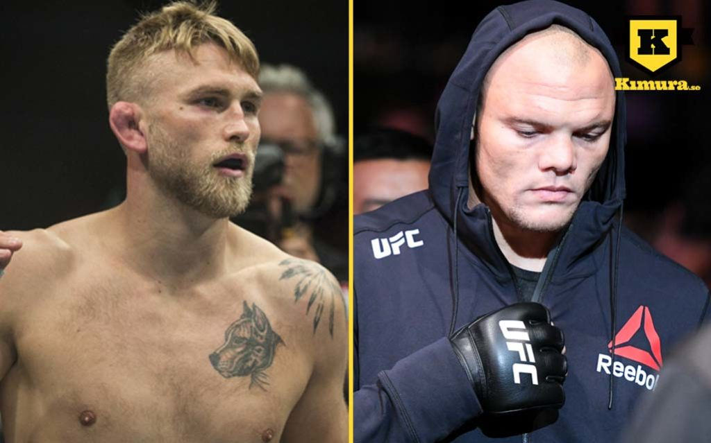 UFC Sverige Alexander Gustafsson Anthony Smith