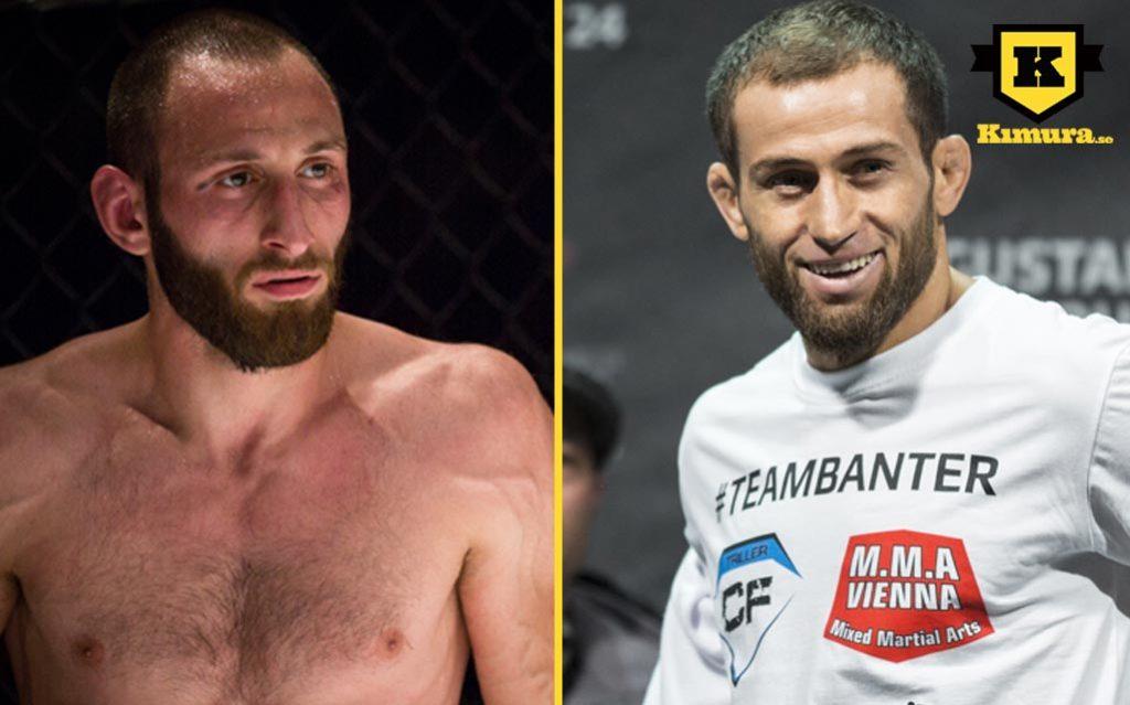 UFC Sverige Guram Kutateladze vs Mairbek Taisumov