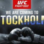 UFC återvänder till Stockholm