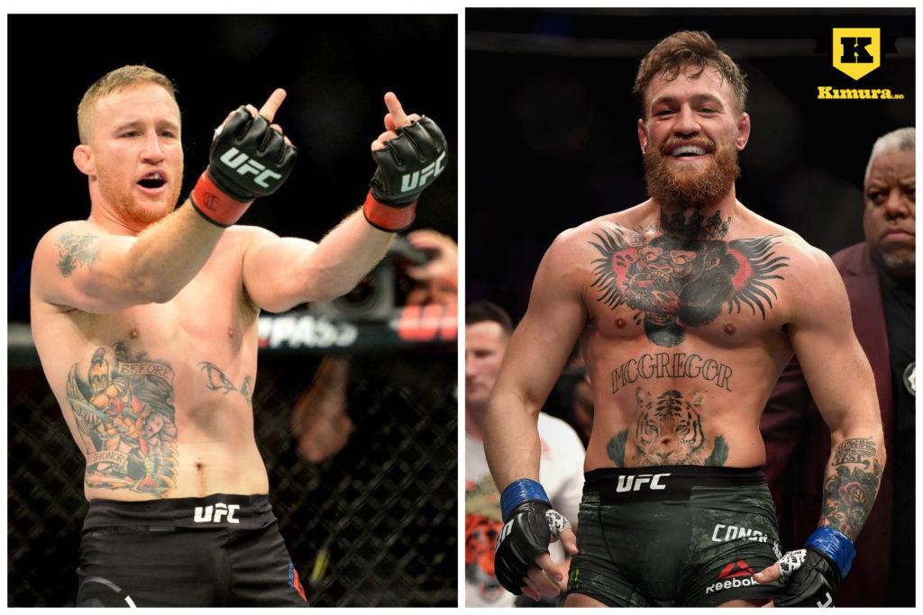 Conor McGregor vs Justin Gaethje rykte