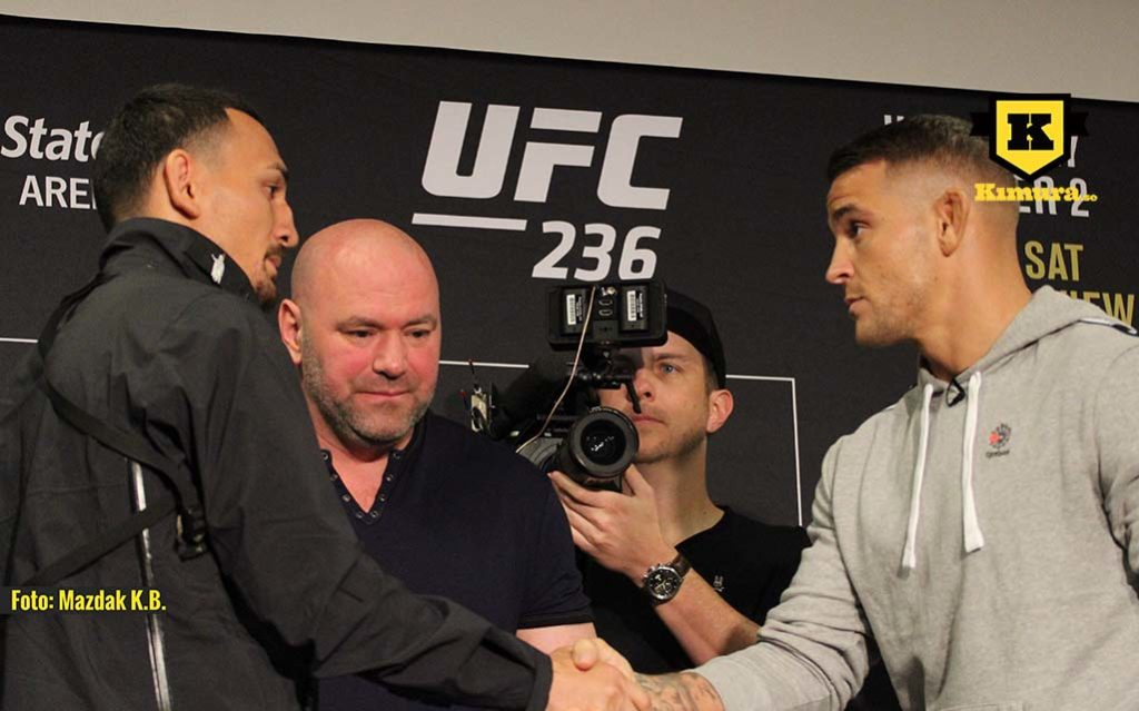 Dustin poirier vs Max Holloway